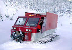 Tracked Snow Vehicles