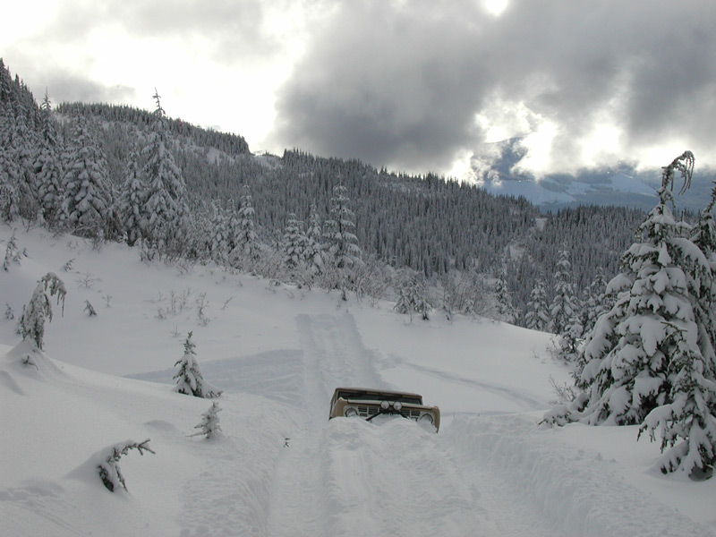 Snow wheeling in the north cascade mountains page 4 snowtrek org